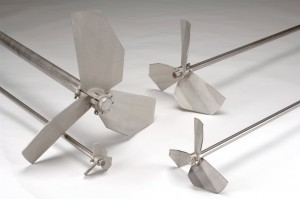 AGIPRO agitator - 4 propeller diameters