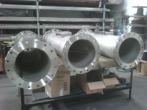 STATMIX mixers being manufactured