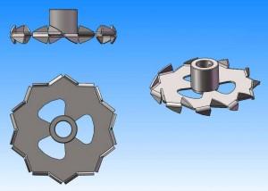 Agitateur RAPIDMIX - Turbine de dispersion